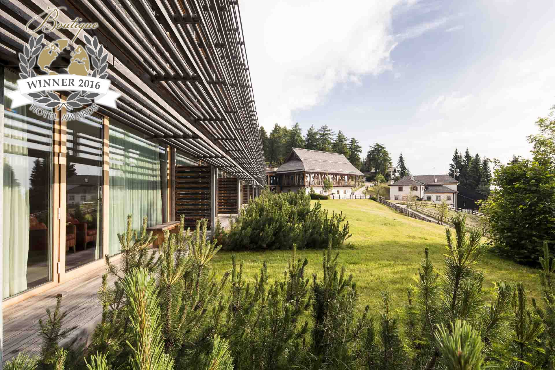 World Most Sustainable Hotel Vigilius Mountain Resort