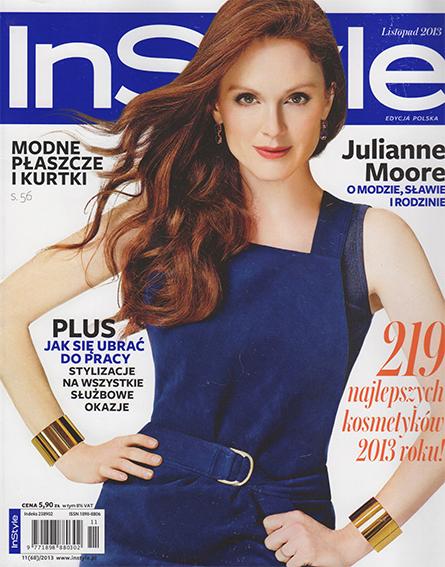Cover InStyle 2013 VISOANSKA