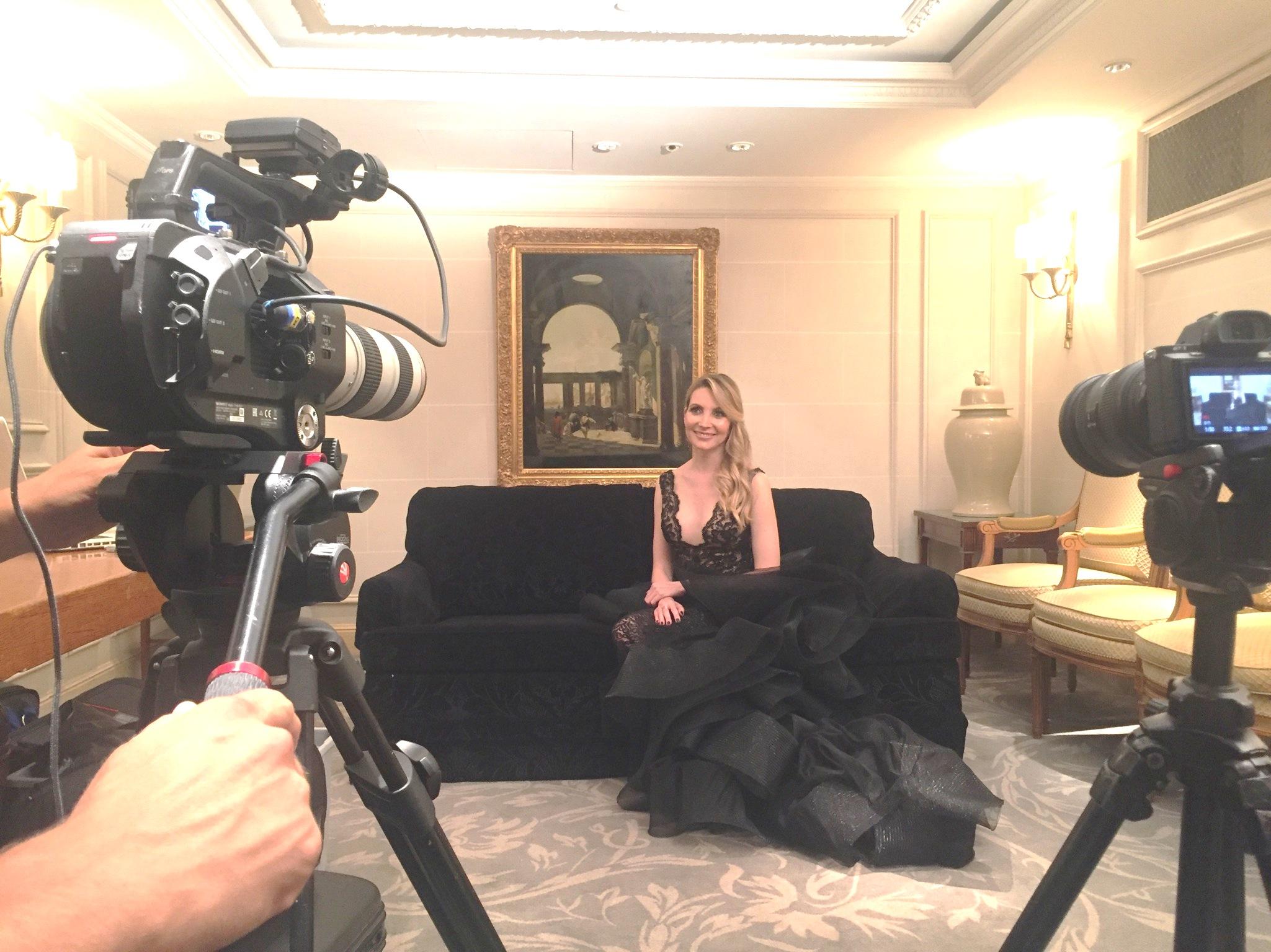Elisabeth Visoanska TV Chanel Interview