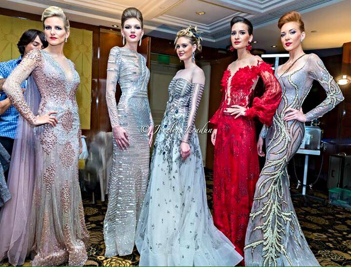 Models en backstage Oriental Fashion Show