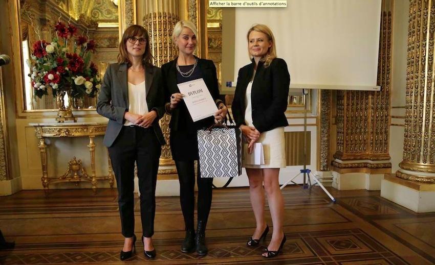 Lauréates 2015