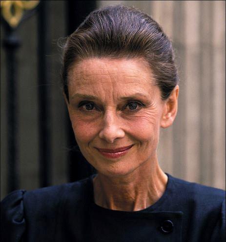 Portrait Audrey Hepburn & Visoanska
