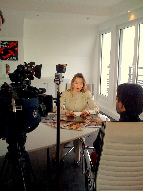 Elisabeth Visoanska interviewed by the reporting team