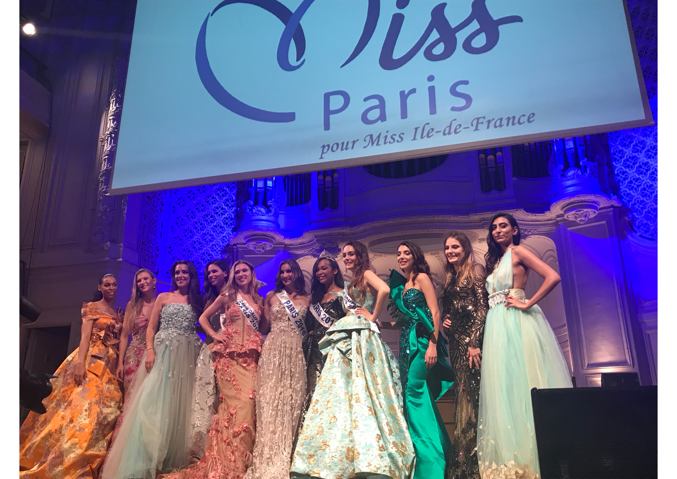 Election miss Paris 2019