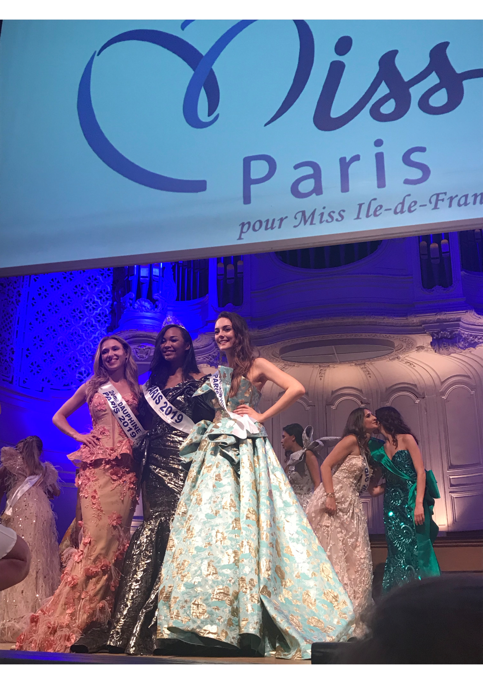 Miss Paris 2019 dauphines