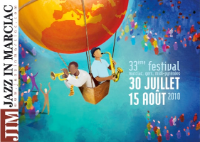 Affiche du Festival de Jazz de Marciac