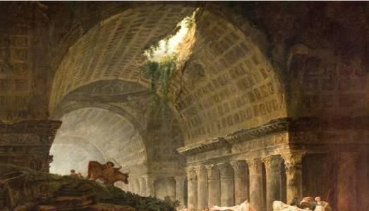 Ruines d'une galerie, par Hubert Robert