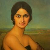Portrait de femme andalouse, par Torres
