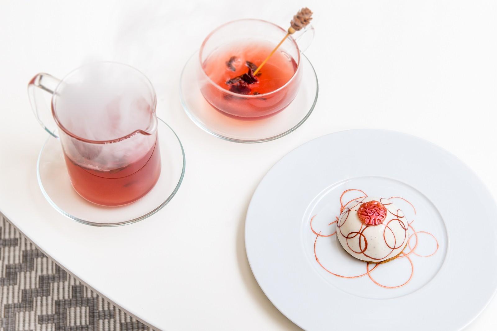 Boiling Tea et Dome Dairelles et de Vanille