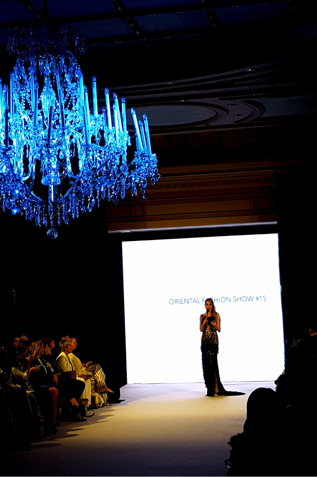 Elisabeth Visoanska presents the Oriental fashion show 2016