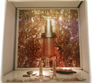 Visoanska windows in Harrods London