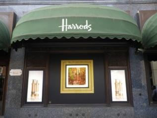 Visoanska windows in Harrods London