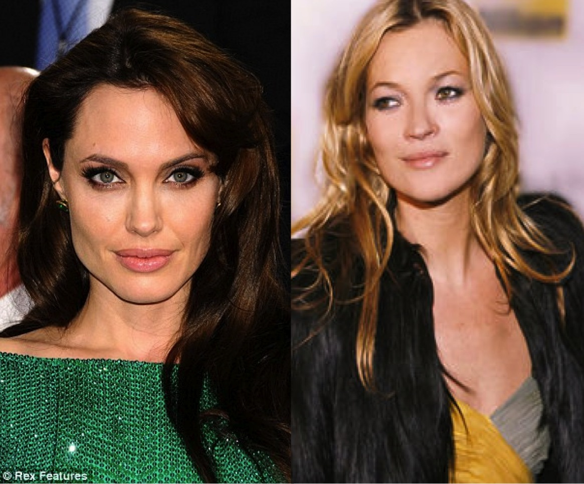 Angelina Jolie and Kate Moss fans of Visoanska